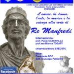 """Evento """"L'amore, la donna, l'arte, la musica e la scienza alla corte di Re Manfredi"""""""