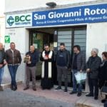 Un defibrillatore per Rignano Garganico collocato nella teca della filiale BCC
